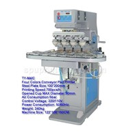 Auto 4-color Pad Printing Machine with conveyor(TY-M4/C)