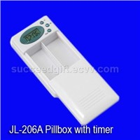 Pillbox with Clock (jl-206A)