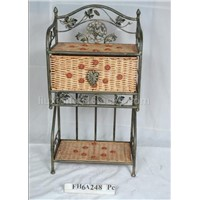 Cane iron furniture