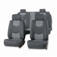 Car seat cover with PVC