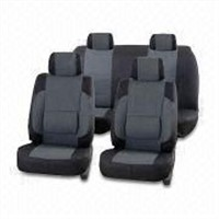 Half PU car seat cover