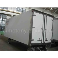 Insulated van body