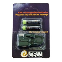 USB Rechargeable Battery Pack (TRK-BAT003)