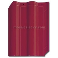 Chinese Ceramic Catena Roofing Tile