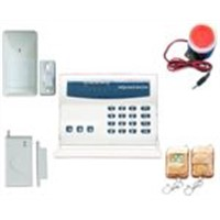 Intelligent wireless&wire security alarm system