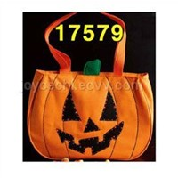 Fiber Optic Halloween Tote Bags
