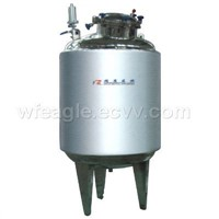 316L vertical/horizontal heat insulating and heating distilled water tank