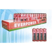 zinc carbon battery supercell everpower
