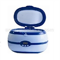 digital mini ultrasonic cleaner with stainless steel tank