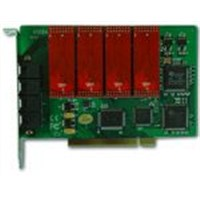 8 port Telephone recording card,Line recording card
