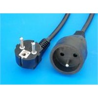 VDE Power extension cord
