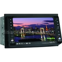 "TWO DIN 6.2""Touch Screen DVD with Bluit-in GPS+SD Card-reader+USB Port + Radio + TV Tuner+"
