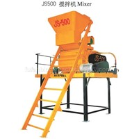 Concrete Mixer (JS500)-Construction Machine-Block Brick Machine