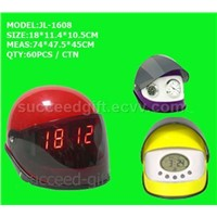 Crash Helmet Clock (jl-1608)