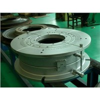 All steel two piece tyre mould