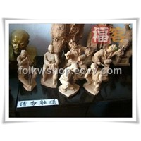 Clay Sculptures & Gifts -Guanzhong Clay Sculpture (GZNS-Small design)