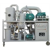 Double Stage Vacuum Trasnfomer Oil Purifier Series ZYD