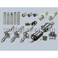 Linear motion slide bush,case units,rail,shaft,ball screw,guideway
