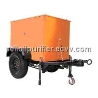 Mobile Transformer oil purifier/oil filtering plant