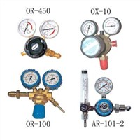 Oxygen and Acetylene Regulators and Flowmeters