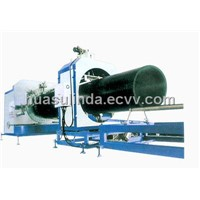 PE Spiral Pipe Line