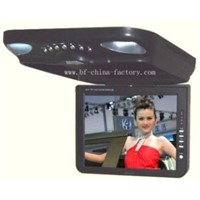 Flip Down Car DVD Player-Roof Mount Car DVD Player