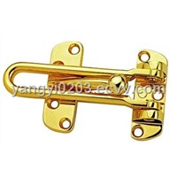 Zinc Alloy Security Door Guard/Brass Door Guard