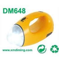 dynamo led Flashlight with compass dm648