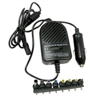 70W power supply Universal Car Charger with 8 Connectors
