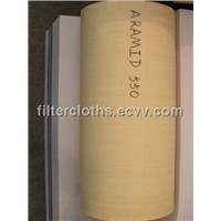 Aramid needle filter felt,filter media,nonwoven filter