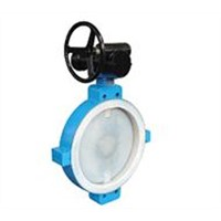 Butterfly Valve with Fluorine Lining