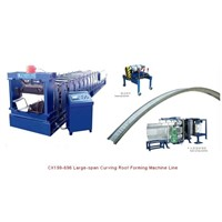 Large-Span Curving Roof Forming Machine