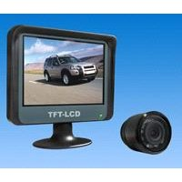 "Rear view camera system with 3.5"" TFT LCD monitor"