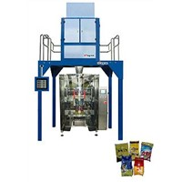 Automatic washing powder packaging machine