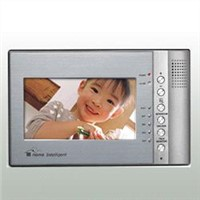 Video Door Phone Color Indoor Monitor With Picture Memory