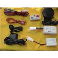 Wireless GPS/GSM Car Alarm &Tracking System