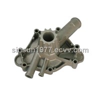 aluminum auto water pump shell