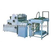 automatic water base laminating machine