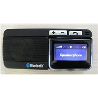 bluetooth sunvisor car kit caller ID