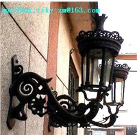 cast iron wall lamp