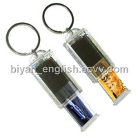 Rectrable solar keychain/solar keychain/promotional gift