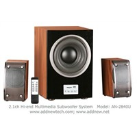 2.1ch Hi-Fi Multimedia Speaker (AN-2840U)