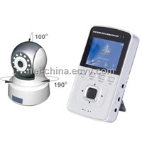 Remote Rotate Baby Monitor - 2.4G