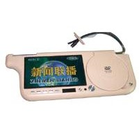 "7""sunvisor DVD player with USB SD card and TV function"