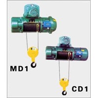 CD1, MD1 electric wire rope hoist