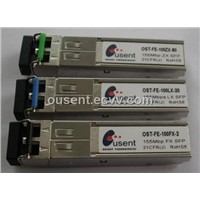 Dual fast ethernet SFP