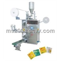 teabag with thread tag envelop packing machine
