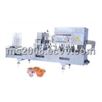 Jelly Cup Filling-Sealing Machine