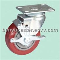 Medium-duty Patent PVC Casters(with lock)