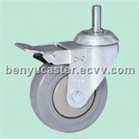 Medium-duty Patent TPR Casters(total lock)